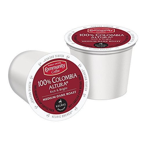 Community Coffee K-Cup Pods, 100% Colombia Altura  12 Count (Pack of 3) (Coffee K Cups 100 compare prices)