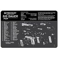 TekMat 11-Inch X 17-Inch Handgun Clea…