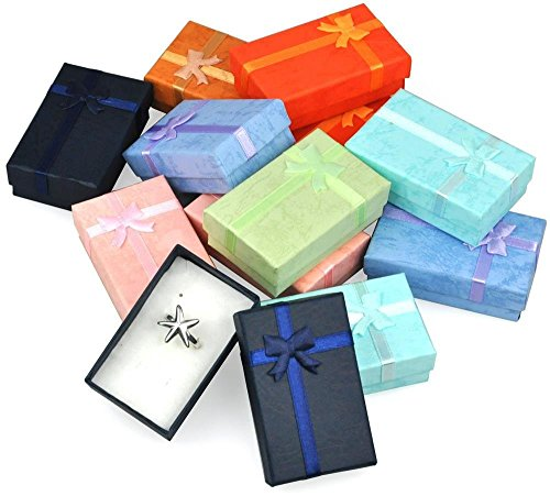 World Pride 12pcs Assorted Jewelry Gifts Boxes for Jewelry Display US Dispatch