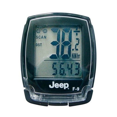 JEEP 0868 - Computer per bicicletta con 20 funzioni, trasmissione dati con cavo
