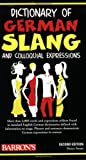 Dictionary of German Slang and Colloquial Expressions (0764141147) by Strutz, Henry