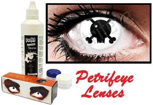 Petrifeye Accessories Crazy Bones Design Crazy Coloured Contact Lenses