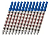 Sheaffer Blue Roller Ball metal refills - 12 Pack