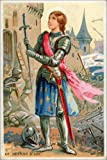 Poster 40 x 60 cm: Joan of Arc by French School / Bridgeman Art Library - high quality art print, new art poster