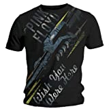 "echange, troc Pink Floyd - Tee Shirt Homme Noir Pink Floyd ""Over Sized Wish You Were Here"" Taille M"