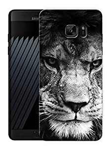"Mighty Lion Face Printed Designer Mobile Back Cover For ""Samsung Galaxy Note 7"" (3D, Matte, Premium Quality Snap On Case)"