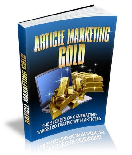 Couverture du livre Article Marketing Gold