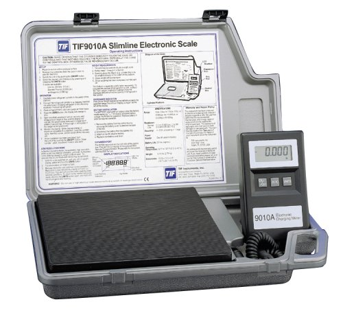 Robinair TIF9010A Slimline Refrigerant Electronic Charging/Recover Scale (Electronic Refrigerant Scale compare prices)