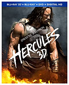 Hercules (Blu-ray 3D + Blu-ray + DVD + Digital HD) from Paramount