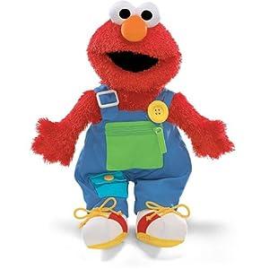 Gund Sesame Street Teach Me Elmo Stuffed Animal