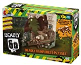 Character Building Deadly 60 Mini Playset - Deadly Rainforest
