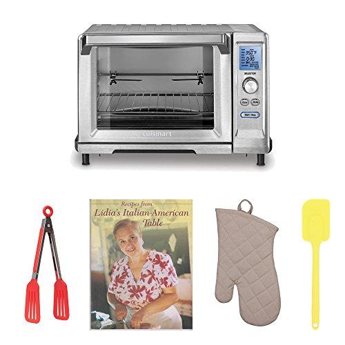 Cuisinart TOB-200 Rotisserie Convection Toaster Oven Bundle