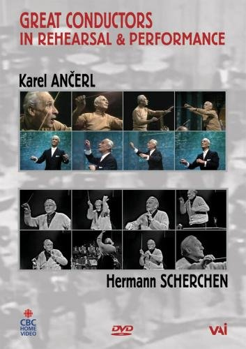 Great Conductors in Rehearsal and Performance (Ancerl) [1969] [DVD]