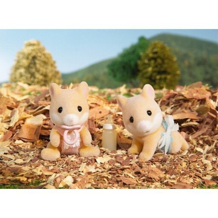 Calico Critters: Hawthorne Hamster Twin