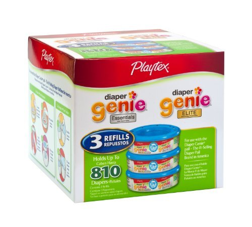 playtex-diaper-genie-refill-810-count-total-3-pack-of-270-each-kids-infant-child-baby-products