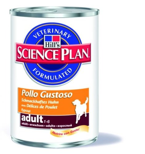Artikelbild: Hill's Science Plan - Canine Adult Medium - Chicken Dosen 12 x 370 gr.