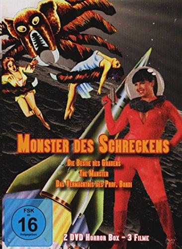 Monster des Schreckens - Die Bestie des Grauens/ The Manster/ Das Vermächtnis des Prof. Bondi (2 DVD Horror Box - 3 Filme)