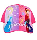 Disney Frozen Adjustable Pink Baseball Cap Hat- Elsa, Ana
