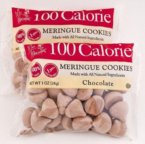 Miss Meringue 100 Calorie Meringue Cookies, Chocolate, 1-Ounce (Pack of 18)