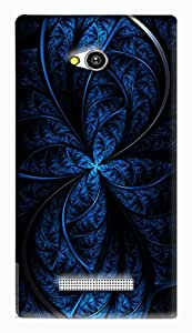 GADGETMATE Lava Flair Z1 Printed Back Cover(For Lava Flair Z1 )