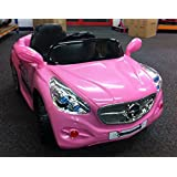 Mercedes AMG Style 12v Electric Kids Ride on Car- Pink With Remote