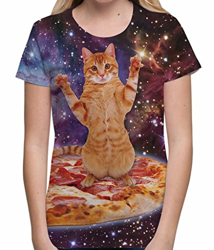 womens-pizza-space-cat-t-shirt-all-over-print-festival-top-holiday-sublimation-tee-white-m