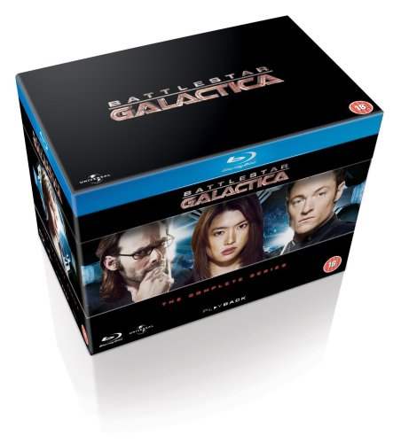 Battlestar Galactica: The Complete Series [Blu-ray][Region