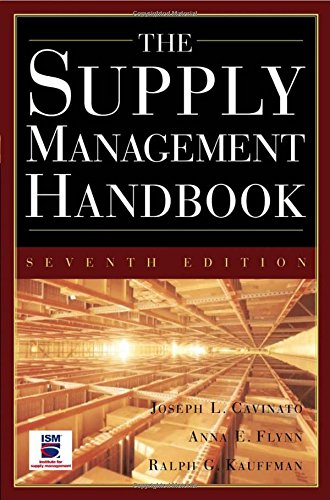 The Supply Mangement Handbook, 7th Ed, by Joseph Cavinato