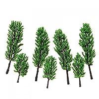 Model Pine Tree Train Set Scenery Landscape HO - 16PCS from SuntekStore Online