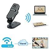 Toughsty™ P2P ドライブレコーダー 小型カメラ WIFIネットワーク隠しカメラ 車上荒らしや事故時の証拠確認に最適 無線リモート防犯カメラ 超軽量ビデオカメラ 録画・録音、防犯、証拠撮影 スマホ・IOS・PC対応可