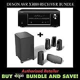 Denon AVR-X3000 7.2-Channel Receiver & Definitive Tech. ProCinema 400 5.1 Spkr System