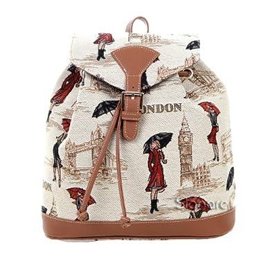 Signare - Petit sac à dos - Femme - Canevas Fashion - Mlle Londres