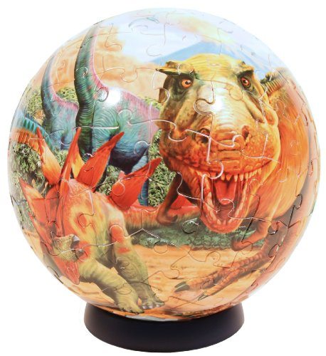 Cheap Fun Ravensburger Dinosaurs 108 Piece Puzzleball (B0046ZTETI)