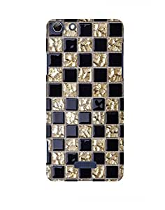 Pick Pattern Back Cover for Micromax Canvas Selfie 3 Q348