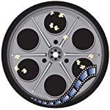 Creative Converting Reel Hollywood Round Dessert Plates, 8-Count