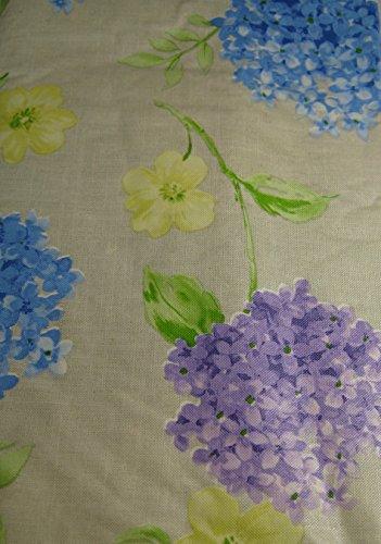 Summer Fun Flannel Back Vinyl Umbrella Tablecloths with Hole and Zipper Flor