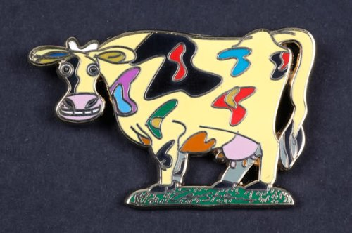 David Gerstein Enamel Metal Pin