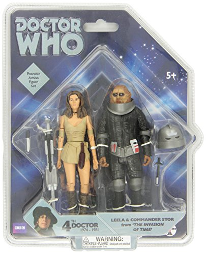 """Underground Toys Doctor Who 'Invasion of Time' Action Figure Set, 5"""""""