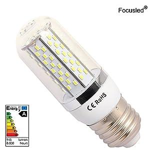 Focusled® E27 LED Bulb 8W Energy Saving Bulb LED Corn Bulbs Cool White(6000-7000) AC95-260V 680-720LM LUMEN 6 PACKS (no Remote Control) from Focusled