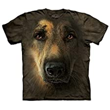 The Mountain German Shepherd Portrait T-Shirt