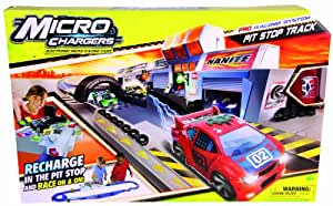 Micro Chargers Micro Chargers Pro Racing Pit Stop Track