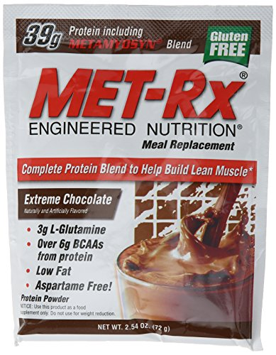 Met Rx Engineered Nutrition Meal Replace Packets
