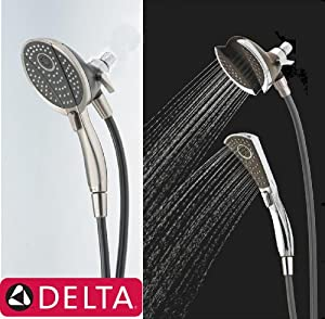 Delta 75480 Shower Head 4spray In2ition 2in1 Mounted W