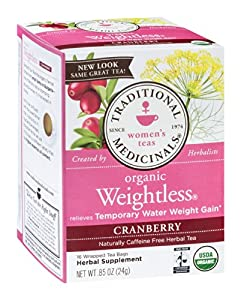 Weightless Tea Cranberry 16 tea bags
