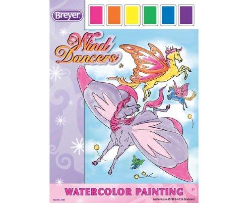 Wind Dancers Watercolor Painting