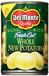 Del Monte New Whole Potatoes, 14.5 Ounce (Pack of 12)