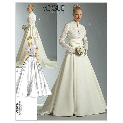 Wedding Dress Paterns 8 Beautiful Vogue Patterns V Misses