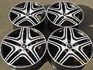 22″ Wheels For Mercedes R350 ML350 500 GL450 550 Set of Four Rims & lugs Set