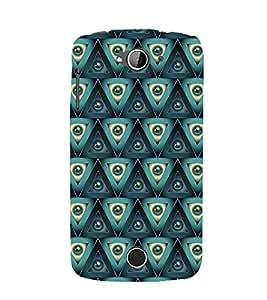 Printvisa Premium Back Cover Green Marbles Pattern Design For Acer Liquid Z530