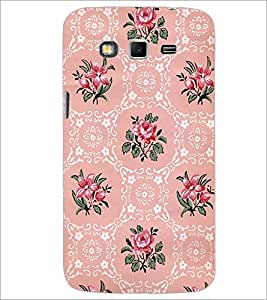 PrintDhaba Floral Pattern D-2112 Back Case Cover for SAMSUNG GALAXY GRAND 2 (Multi-Coloured)